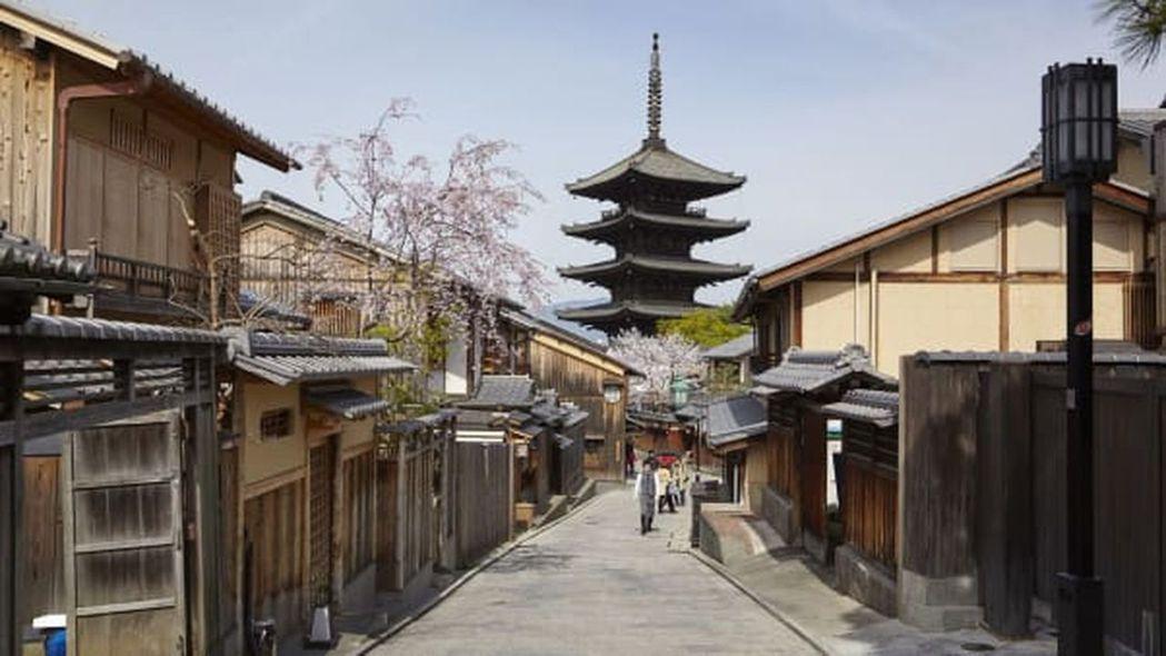 日本新冠疫情延燒,京都也難得靜了下來。示意圖/翻攝自JNTO