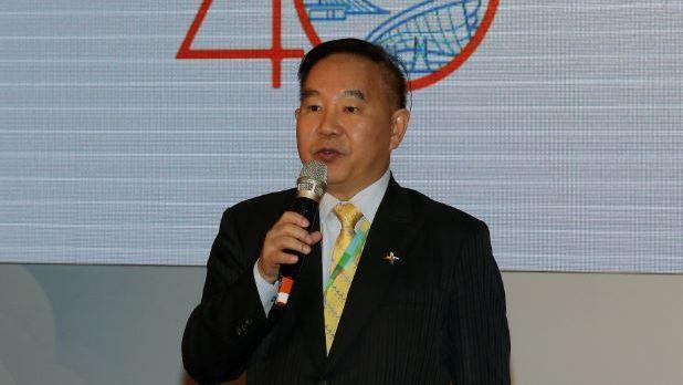 桃園機場公司董事長王明德。 記者陳嘉寧/攝影