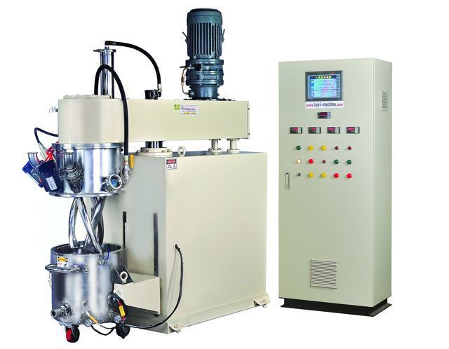 泰億國際攪拌機械公司推出雙軸行星式攪拌機。 泰億/提供