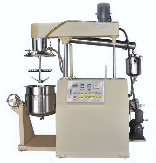 泰億國際攪拌機械公司推出真空加溫濃縮攪拌機。 泰億/提供