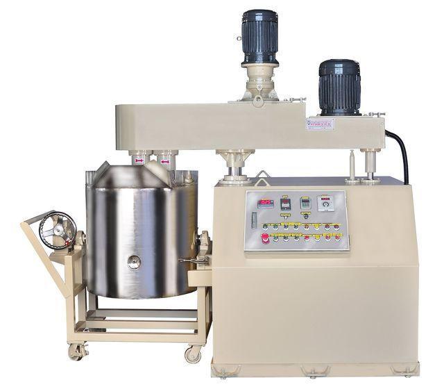 泰億國際攪拌機械公司推出雙軸偏心攪拌機。 泰億/提供