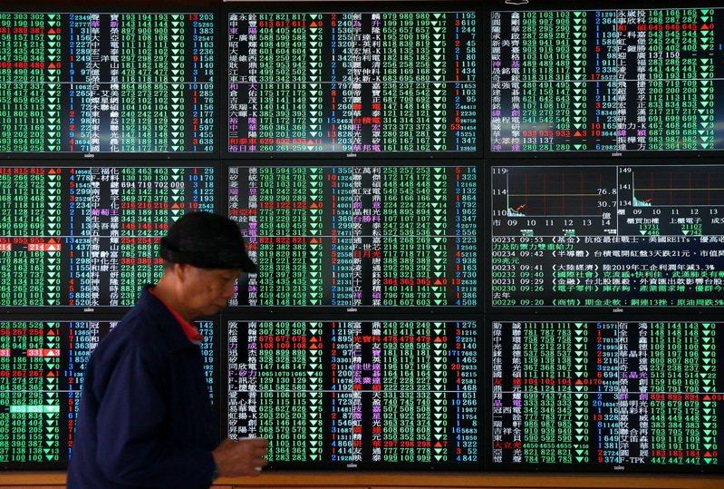 新冠肺炎疫情在亞洲快速擴大,全球主要股市從高檔回跌,只有中國大陸股市逆勢上揚。 聯合報系資料照/記者余承翰攝影