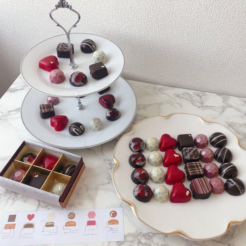 日本網友Sae手工製作的巧克力,讓推特上的網友們驚艷。圖/Twitter