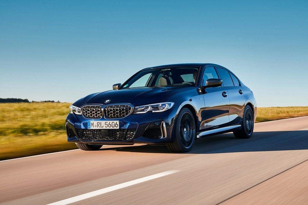 全新BMW M340d xDrive與X3 M40d、X4 M40d共用同一具B...