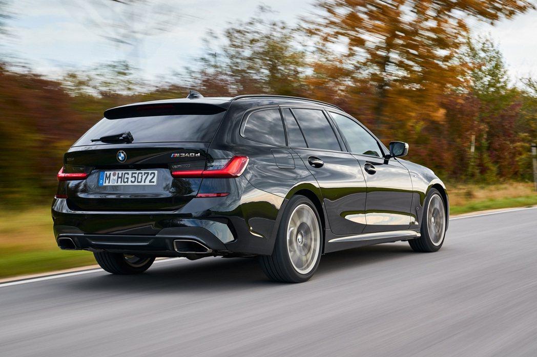 全新BMW M340d xDrive Sedan/Touring最大馬力可爆發出...