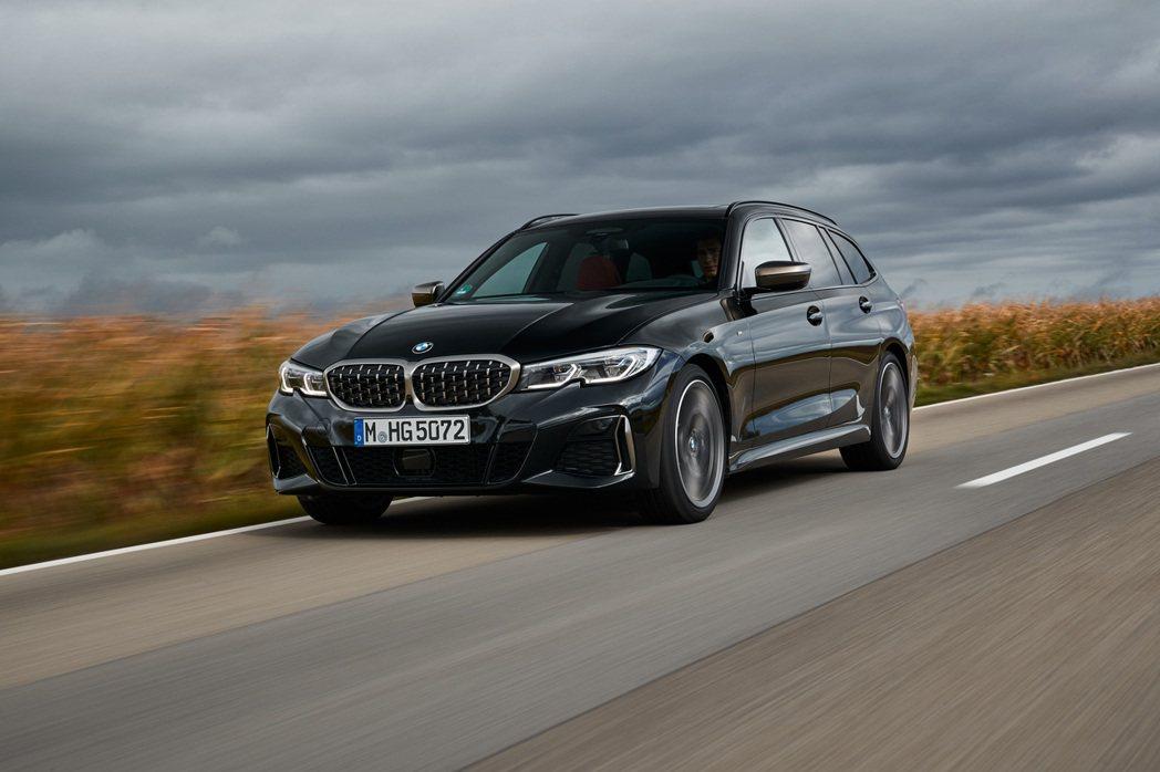 全新BMW M340d xDrive Touring零百加速只比Sedan版本慢...