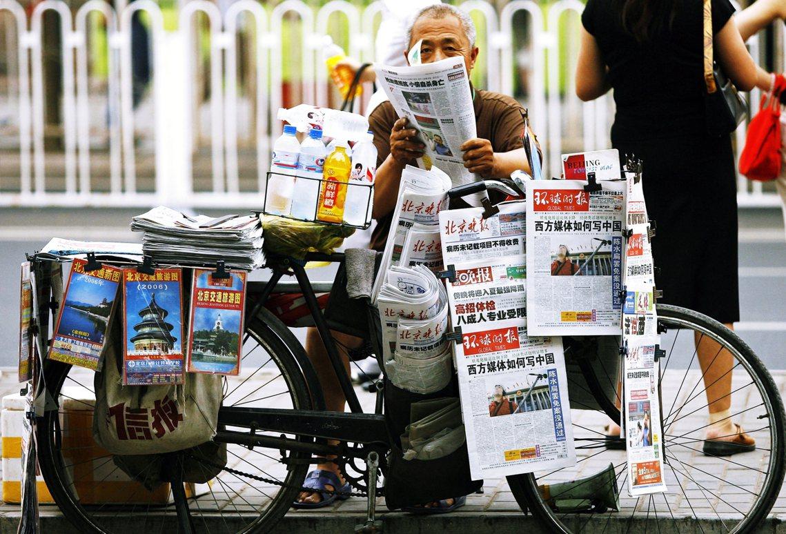 受美國國務院命令影響的5家中國官媒機構,分別是:《新華社》、《中國環球電視網》(...