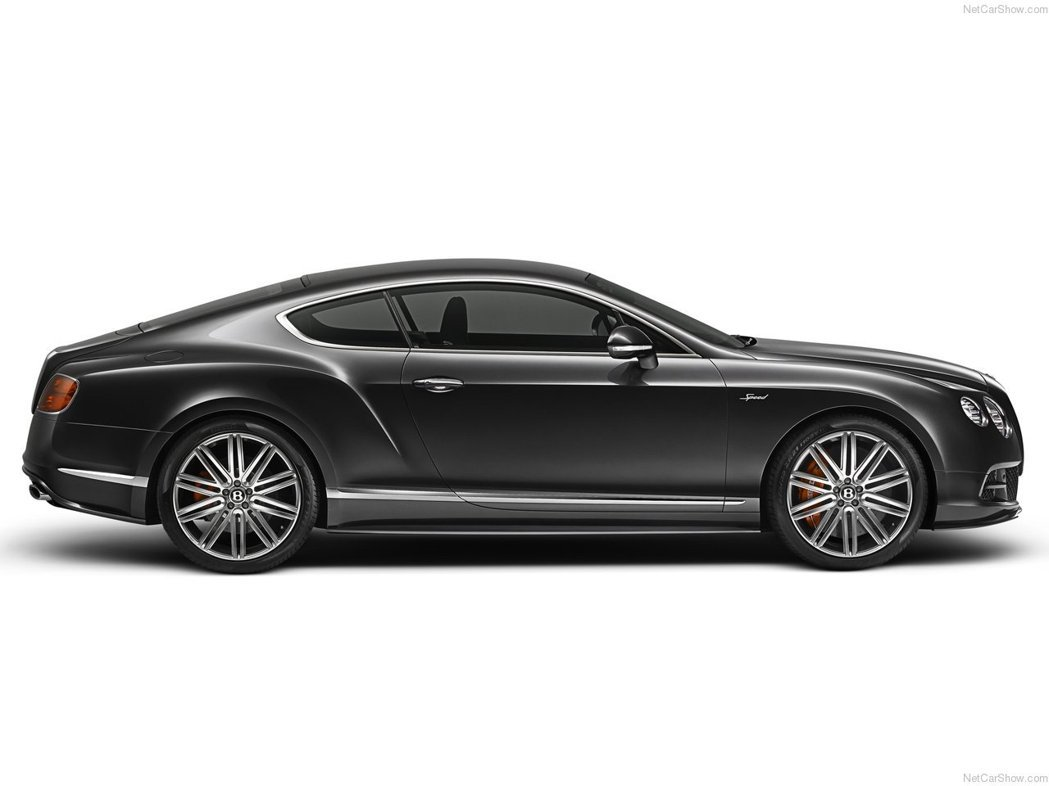 仿效Bentley Continental GT 的輪框。 摘自Bentley