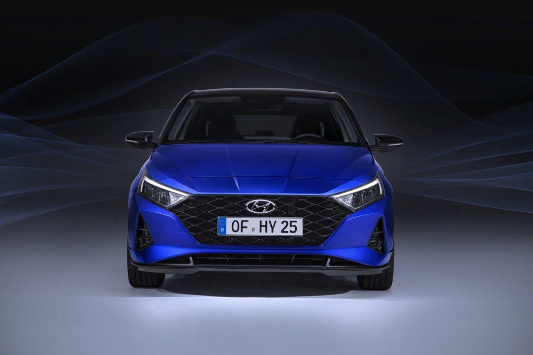 第三代Hyundai i20 車頭。 摘自Hyundai