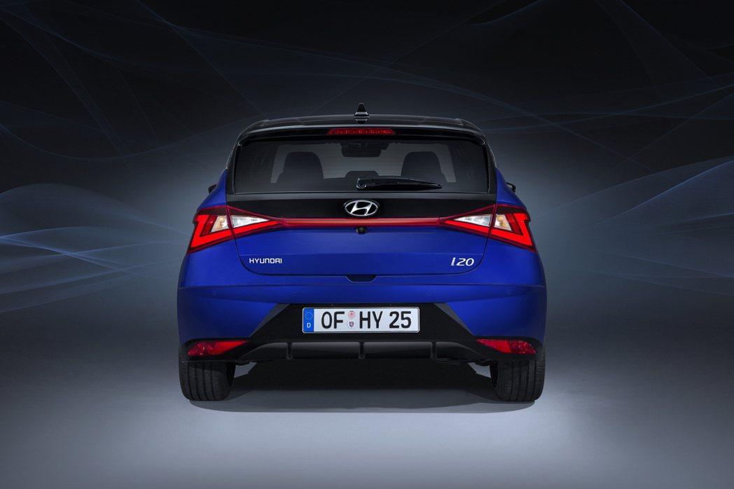 第三代Hyundai i20 車尾。 摘自Hyundai