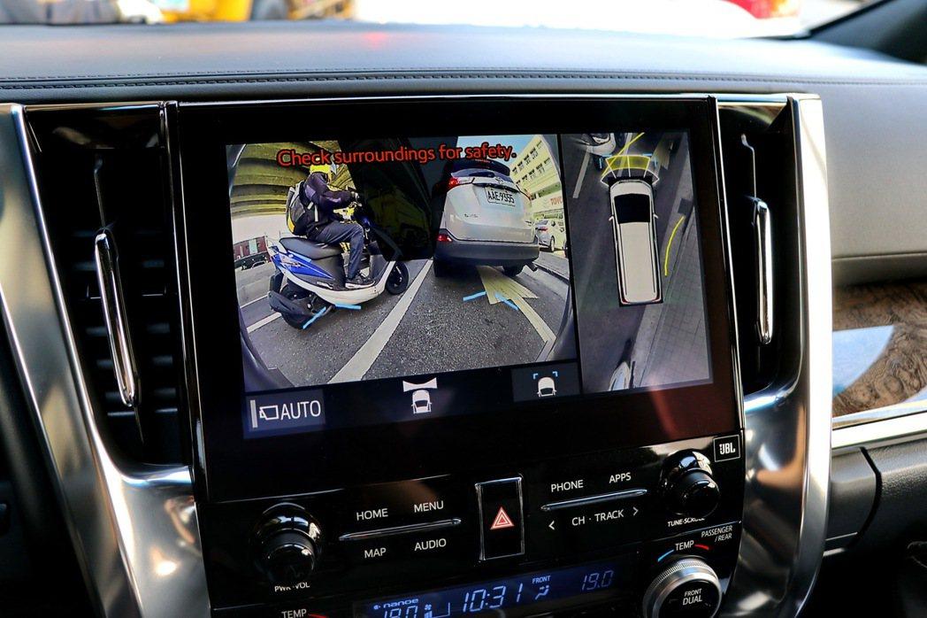 TOYOTA Alphard主動安全科技再升級。 記者陳威任/攝影