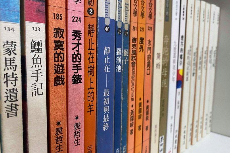 袁哲生留下的小說作品。 圖/作者提供