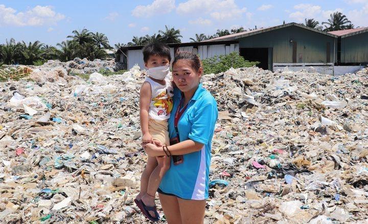 義大利公司與馬來西亞工廠合作違法走私廢棄物,嚴重影響當地居民健康。(photo by Twitter)