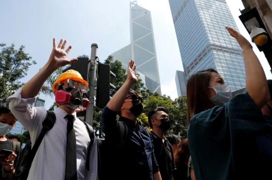 香港。 路透社
