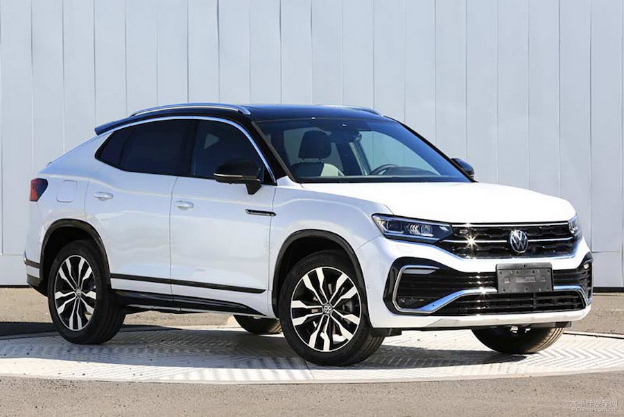 Volkswagen推出全新車款Tayron X 中國限定的美型coupe SUV