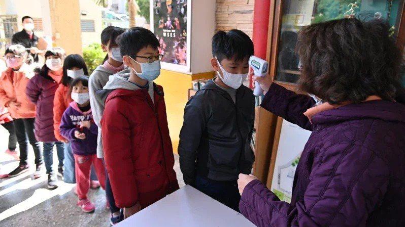因應武漢肺炎疫情,教育部今天公布停課標準。 圖/新北市教育局提供