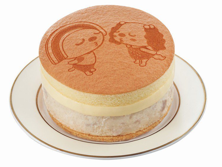 OPEN!輕起司芋泥布丁蛋糕,售價179元。圖/7-ELEVEN提供