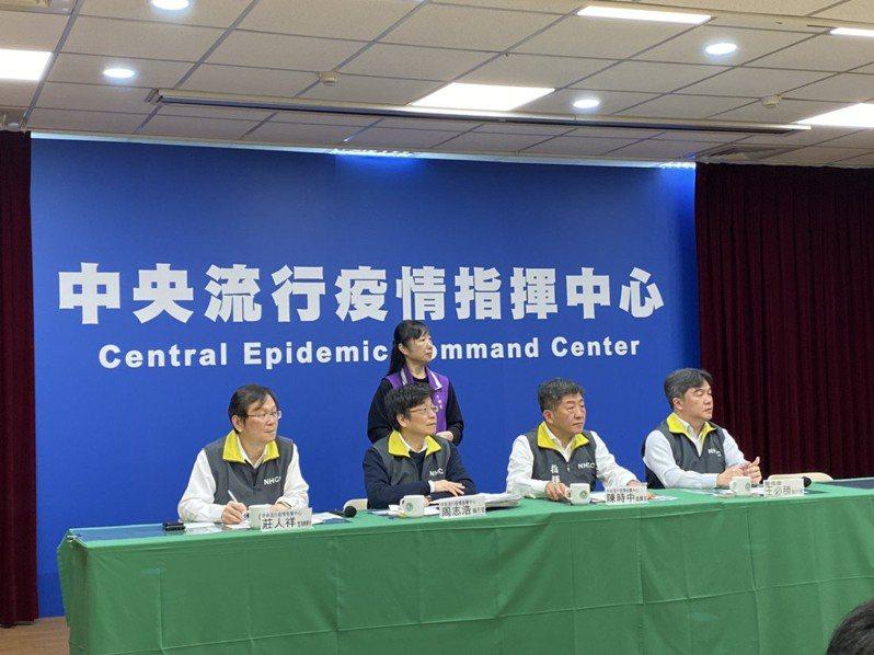 新冠肺炎(COVID-19)疫情延燒,中央流行疫情指揮中心今(23)日召開記者會,說明最新疫情及防疫作為。報系資料照/記者簡浩正攝影