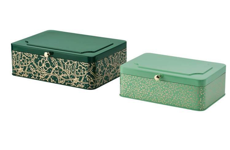 IKEA ANILINARE裝飾盒2件組,售價390元。圖/IKEA提供