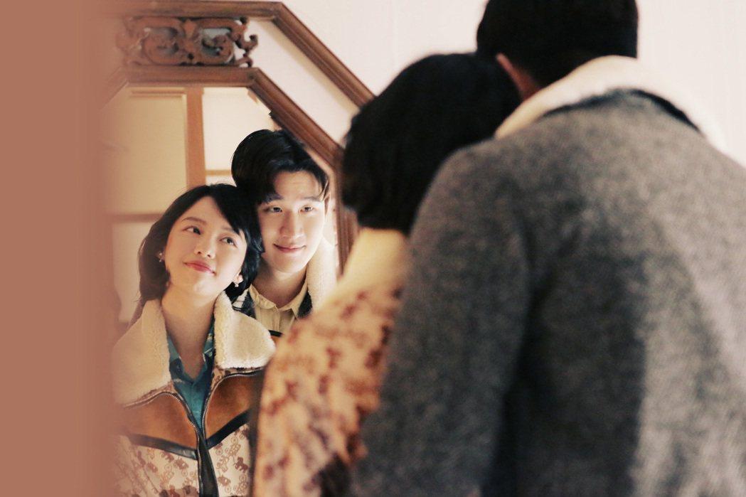周興哲新歌「受夠」MV,與王渝屏(左)飆戲。圖/星空飛騰提供