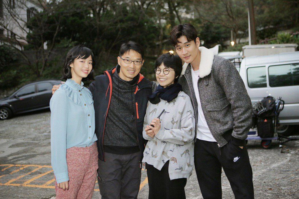 王渝屏(左起)、關本良、陳慧翎和周興哲。圖/星空飛騰提供