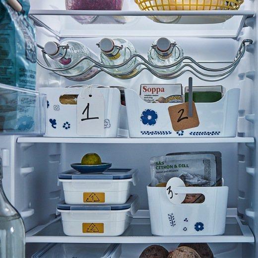 IKEA IVAR酒瓶架(灰色)可讓冰箱空間有效運用,售價450元。圖/IKEA...