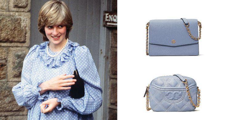 Tory Burch春夏系列靈感來自黛安娜王妃,在包包、鞋款單品使用了清爽的天空...