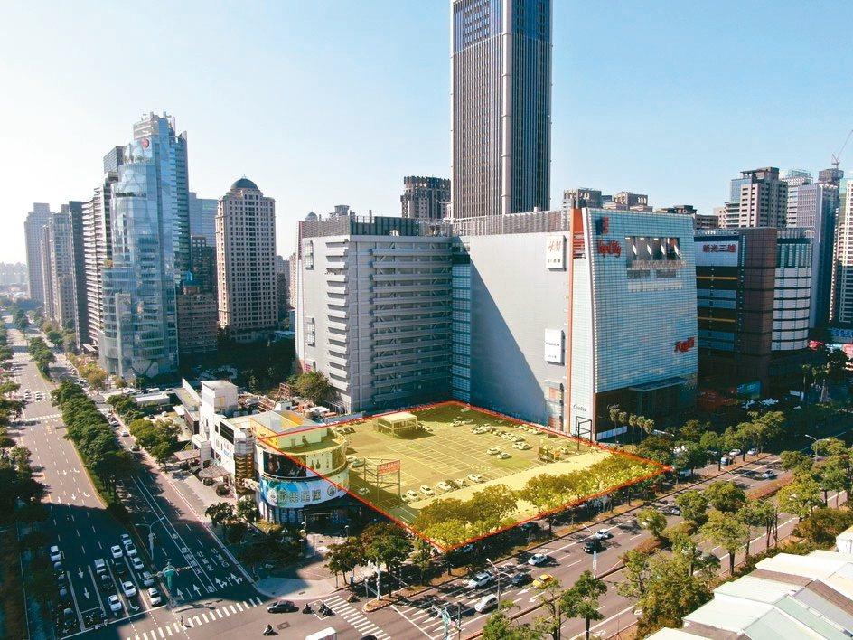 興富發昨天以總價逾83億元,標下達新工業位於台中大遠百旁的2,593坪土地。 戴...