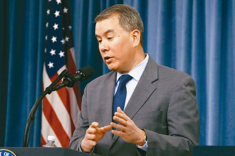 主管政策事務的美國國防部次長魯德在川普要求下,19日遞出辭呈。 美聯社