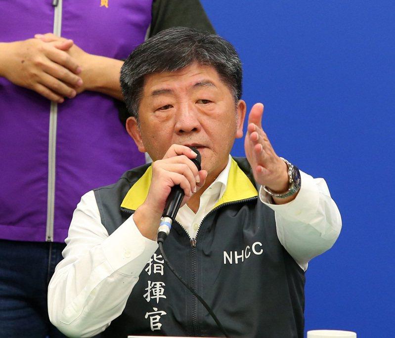 中央流行疫情指揮中心指揮官陳時中。聯合報系資料照片/記者林澔一攝影