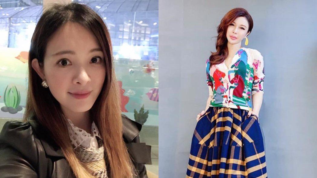劉真與利菁是認識10年的好友。 圖/擷自臉書