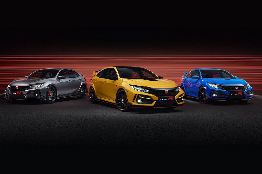 小改款Honda Civic Type R美國、歐洲同步釋出售價,並提供限量特仕...