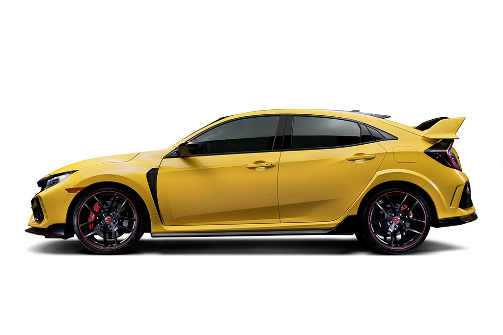 Honda Civic Type R Limited Edition採用專屬Ph...