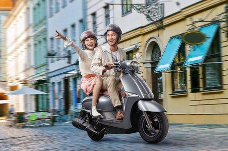 歐風契合時尚!Suzuki Saluto 125售價78,000元起在台上市