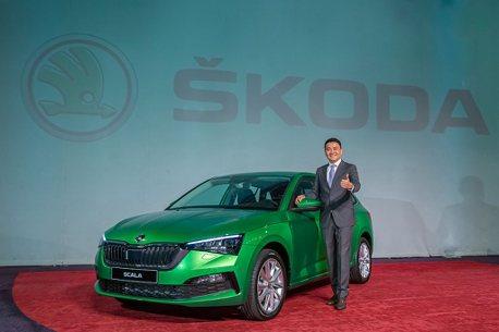 終於有中文介面!歐系新掀背Skoda Scala優惠價83.9萬起登台開賣