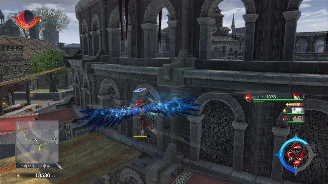 蒼鷹的異能可以讓玩家在空中滑翔飛行一段時間,到遠處很方便。