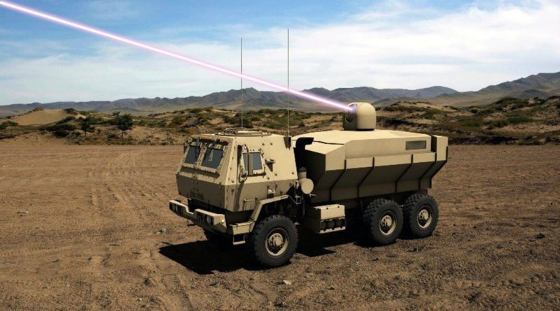 美國陸軍全力研發中的「高能雷射戰術載具驗證車(HEL-TVD)」。 圖/Lock...