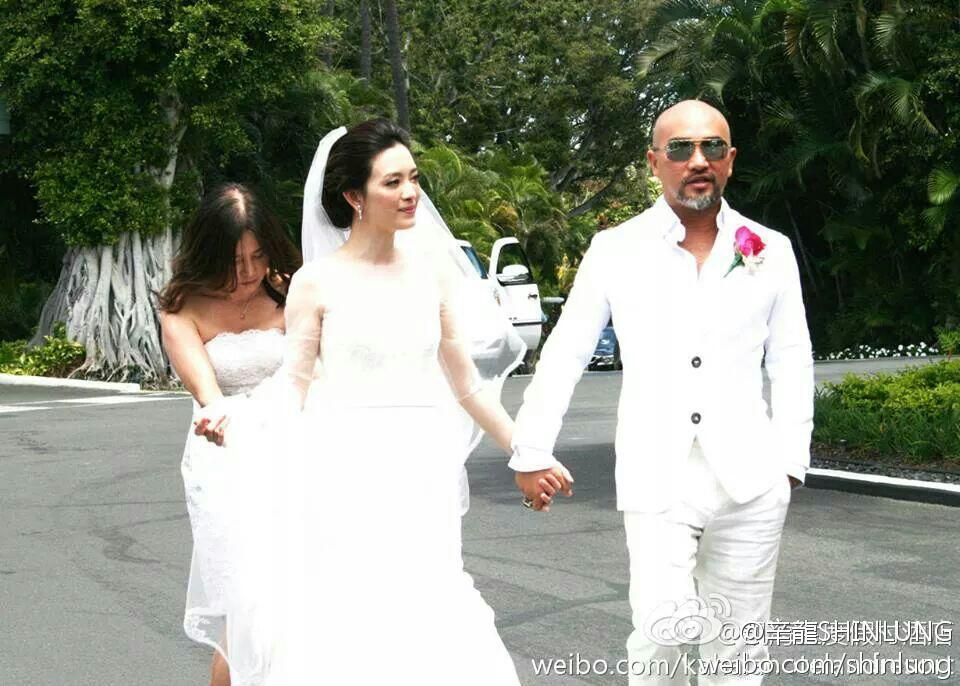 辛龍愛劉真,天下盡知,6年前在夏威夷辦了這場豪華婚禮,羨慕許多人。圖/辛龍微博