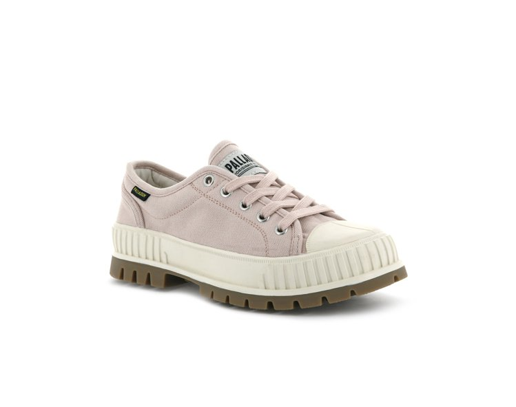 PALLADIUM PALLASHOCK巧克力鞋,草莓奶昔配色2,480元。圖/...