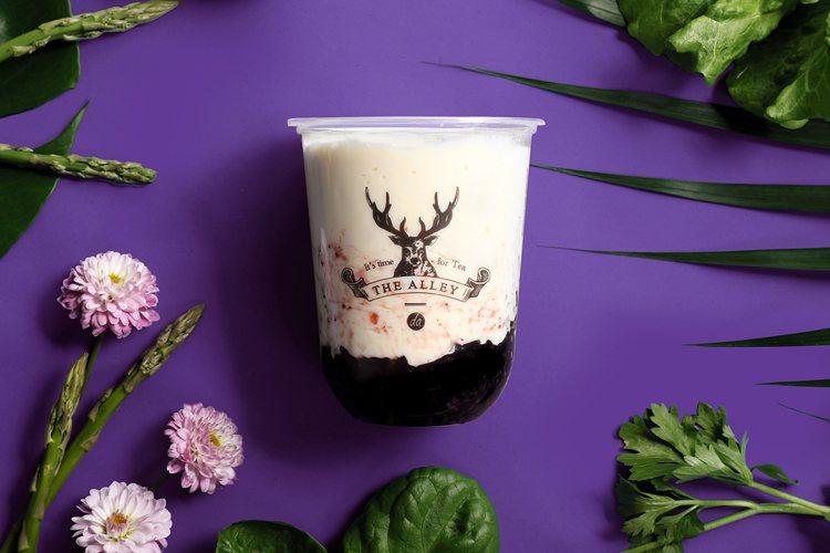 原味紫米酸奶。圖/鹿角巷提供