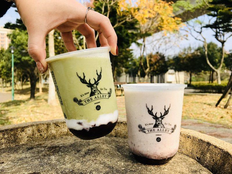 鹿角巷推出酸奶系列新品。圖/鹿角巷提供