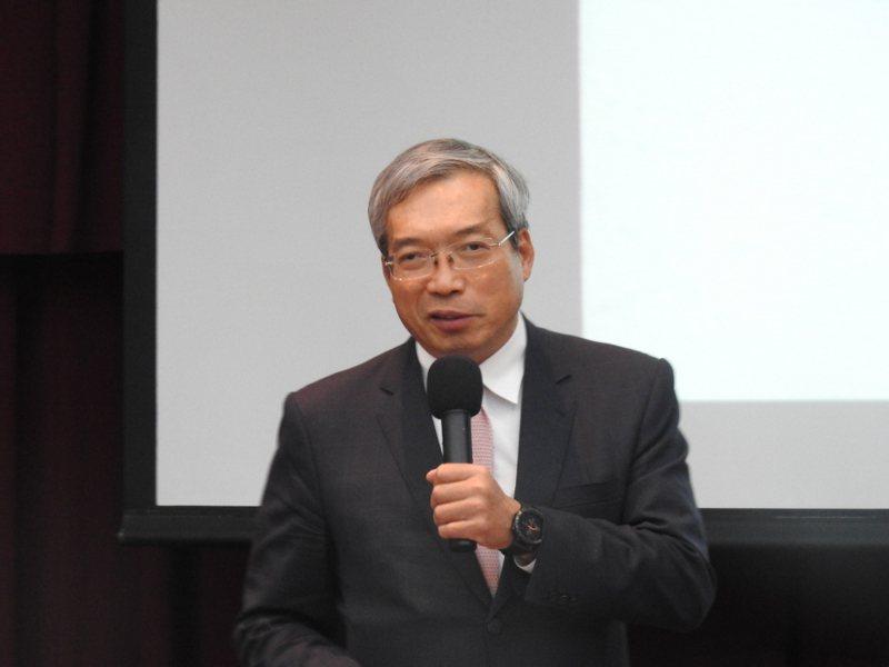 財信傳媒董事長謝金河。記者林宸誼╱攝影