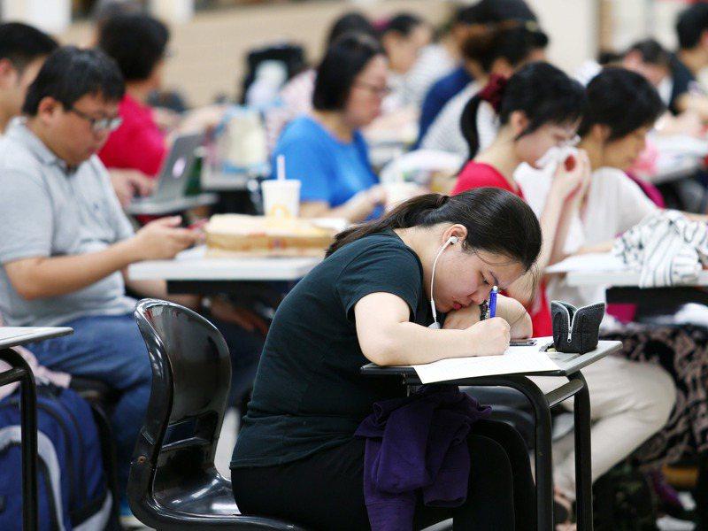 考試院院會日前通過,109年公務人員特種考試關務人員、身心障礙人員將增列需用名額52名。示意圖/本報資料照片