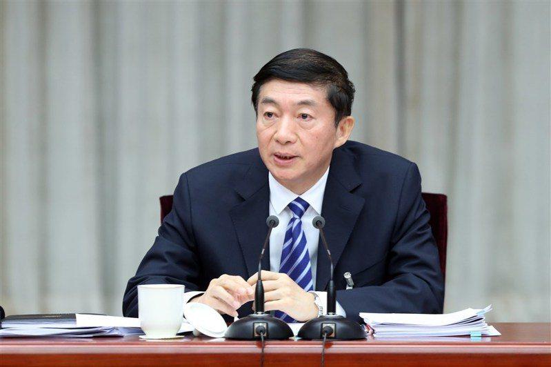 香港中聯辦主任駱惠寧。中新社資料照片