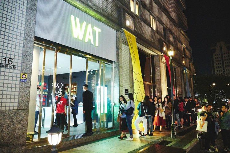 亞洲首間瓶裝雞尾酒複合概念店WAT,去年底進駐台北信義商圈。圖/WAT提供