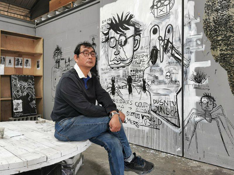 藝術家戴明德坦言,20年來這個空間給他太多的養份,他心中充滿許多感謝。記者卜敏正/攝影