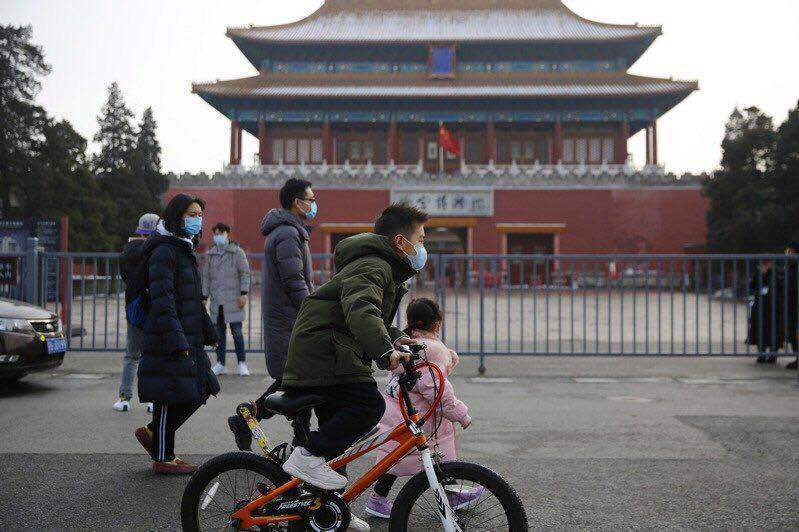 北京復興醫院爆發群聚性感染。圖/取自歐新社