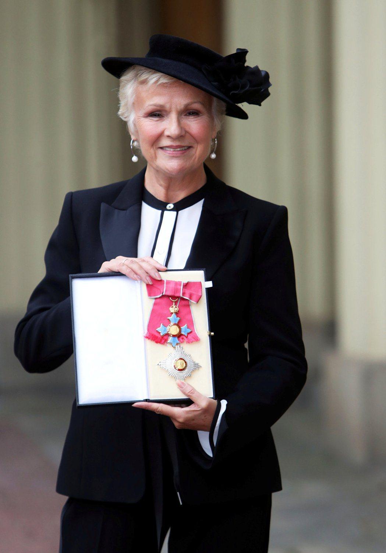 茱莉華特斯因演藝成就表現獲頒女爵頭銜。圖/路透資料照片