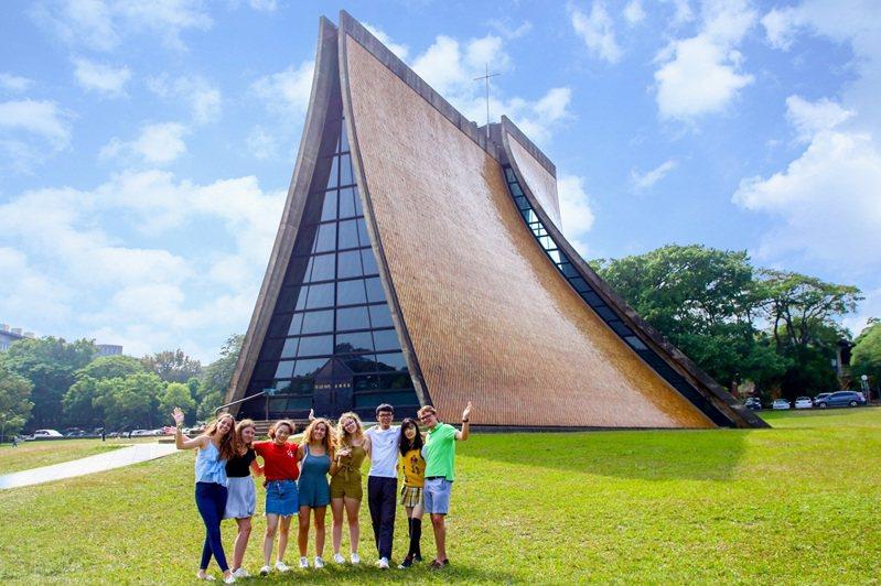 東海大學擁有國際化校園環境。 圖/東海大學 提供