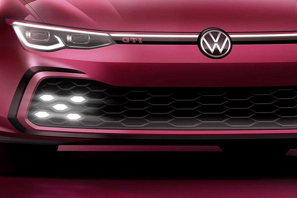 全新第八代福斯Golf GTI也確認將於瑞士日內瓦車展全球首發。 圖/Volks...
